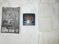 Prince of Persia for SEGA Game Gear Includes Cartridge Case and Manual TESTED