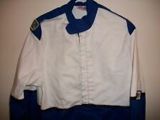 Fmr Safety Sfi 3-2A/1 Approved Racing Jacket Blue Medium With White Billboard