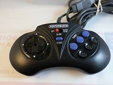 Performance Turbo / Slow 6 Button Controller Sega Genesis! ~ Tested - Fast Ship