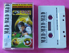 Sinclair ZX Spectrum/Amstrad CPC - Mastertronic ON CUE Snooker 1988 *NEW!