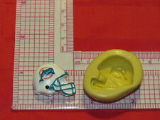 NFL Football Miami Dolphins Helmet Silicone Push Mold 355 Chocolate Candy Cake