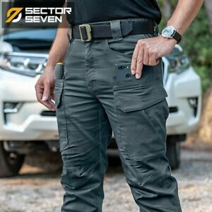 2021 New Tactical Pants Men's Cargo Casual Military Work Cotton Male Trousers