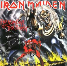 IRON MAIDEN THE NUMBER OF THE BEAST VINILE LP 180 GRAMMI NUOVO SIGILLATO !!