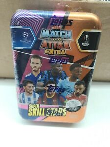2021 Topps match attack extra super skills soccer stars New In Tin Seal Intact