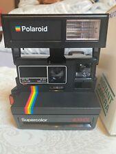 Cámara instantánea Polaroid Supercolor 635CL En Caja