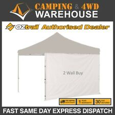 OZTRAIL GAZEBO SOLID SIDE WALL FOR 3 x 3m DELUXE STANDARD GAZEBO - FREE DELIVERY