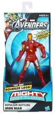 """Mighty Battlers Iron Man Figura De Acción 6"""" Nuevo/Sellado"""