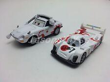 Mattel Disney Pixar Cars Shu Todoroki & Mach Matsuo Metal Toy Car 1:55 Loose New