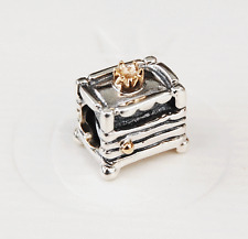 "Genuine Pandora Charm ""Princess and the Pea"" 790320 retired"
