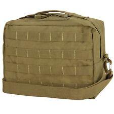 Condor Tactical MOLLE Utility Shoulder Bag Modular Detach Straps Coyote Brown
