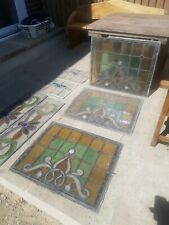 7 x Stained Glass window Leaded Windows spares