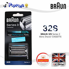 BRAUN 32S Shaver Foil Cutter Head Series 3 Cassette 5774 370 350 370cc 360 5779