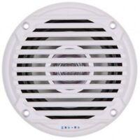 "Asa Electronics MS5006W JENSEN 5.25"" White Dual Cone Waterproof Speakers"