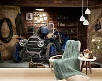 3D Automodell Q98 Auto Tapete Wandbild selbstklebend abnehmbare Acmy