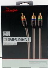 Rocketfish 8ft  Component Video Cable for Home Theater Video Connection