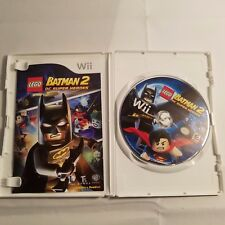 Nintendo Wii Lego Batman 2: DC Super Heroes Video Game W/Case Booklet 2012