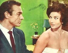 "ZENA MARSHALL & SEAN CONNERY in ""Dr. NO"" Original Vintage COLOR LOBBY CARD 1962"