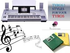TYROS Floppy Disk set + ''TYROS 3 STYLES'' NEW