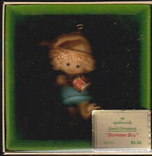 1980 Hallmark Drummer Boy Ornament NIB NEW