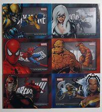 2014 Marvel Universe 2: Full SHADOWBOX SET #S7-S12 BV=$45