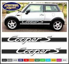 MINI COOPER 'S' BMW RACING SIDE STRIPES - FIT THE BEST!