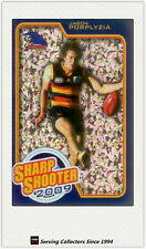 2010 AFL Herald Sun Cards Sharp Shooters Subset SS1 Jason Porplyzia (Adelaide)