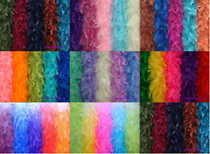 65 Gram Chandelle Feather Boas, 35+ Solid Colors to pick up from, New