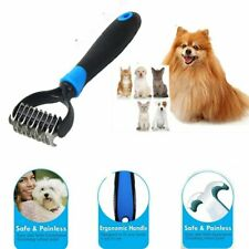 Pet Dog or Cat Professional Brush Grooming Rake Comb Dematting Tool Undercoat