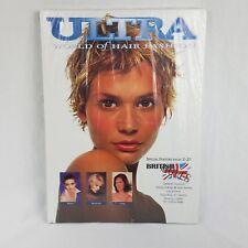 Vintage Salon Hair Fashion Style Book Ultra World of Hair Fashion British Moves