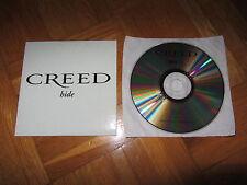 CREED Hide 2001 SPAIN promo collectors CD single