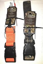 NEW Real Tree CAMO Hunter's ORANGE set of 2 DOG COLLARS M/L Size Dog Double Ply