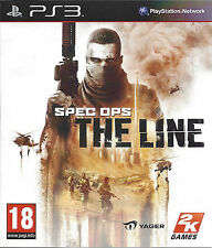 SPEC OPS THE LINE for Playstation 3 PS3 - with box & manual