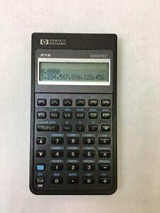 Hewlett Packard HP 27S Scientific Calculator - Includes Fresh Batteries!