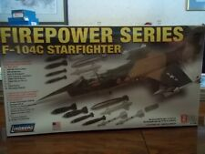 F-104C Starfighter fighter jet Firepower Series (1/48th scale) model kit