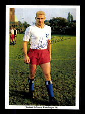 Juhani Peltonen Autogrammkarte Hamburger SV Spieler 60er Jahre Original Sign 2