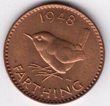 Farthing 1948 FIOR DI CONIO George VL