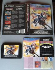 SEGA MEGA DRIVE SUNSET RIDERS KONAMI COMPLETE IN BOX 100% ORIGINAL CIB RARE!