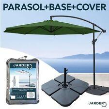Steel Cantilever Umbrella 3m Diameter Patio Parasols