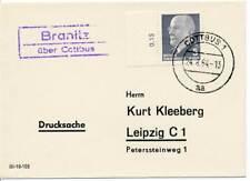 581827) DDR Landpostblg. Branitz ü. Cottbus