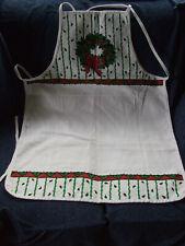 New listing Vintage B&D Christmas full bib apron pre-owned