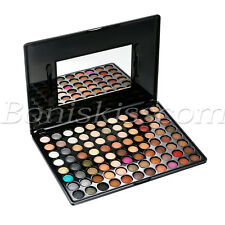 88 Colors Makeup Shimmer Matte Eyeshadow Palette Warm Eye Shadow Powder Set Kit