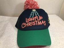 e60820b5965 WALMART LIGHTUO CHRISTMAS PROMOTIONAL SNAP BACK BALL CAP    BRAND NEW