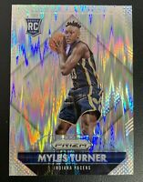 MYLES TURNER Prizm Hyper SILVER FLASH Refractor SP ROOKIE Card RC PSA 9/10?
