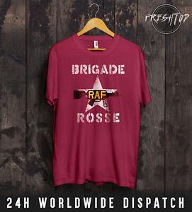 Brigade Rosse RAF T Shirt Worn By Joe Strummer The Clash Red Army Rock Punk UK