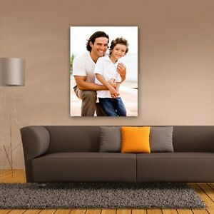 UPLOAD YOUR OWN PHOTO CANVAS. Portrait Photo Upload. Perfect For Family, Friends