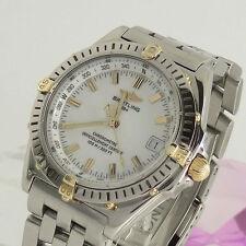 Breitling Armbanduhren im Luxus-Stil aus Edelstahl für Erwachsene