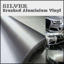 35x152cm Plata Acero Aluminio Pulido ADHESIVO EMBALAJE DE VINILO vehículos