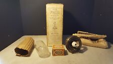 Patent 1912 Welsbach Gas Light Burner Globe Mantle Original Box