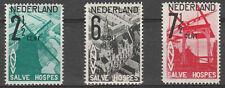 xxx NEDERLAND NVPH nrs. 244, 245 en 246, 3 waarden A.N.V.V. Cat.w. € 153,--