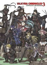Valkyria Chronicles 3: Complete Artworks PSP - English (Rare, Out of Print)